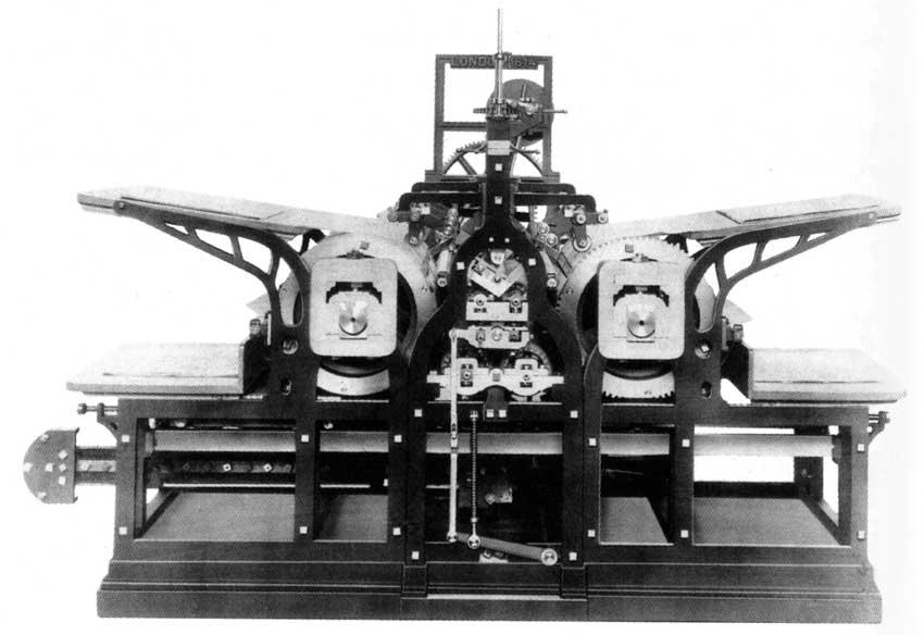 Kenigova cilindrična štamparska mašina