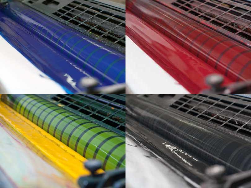 cmyk boje paleta