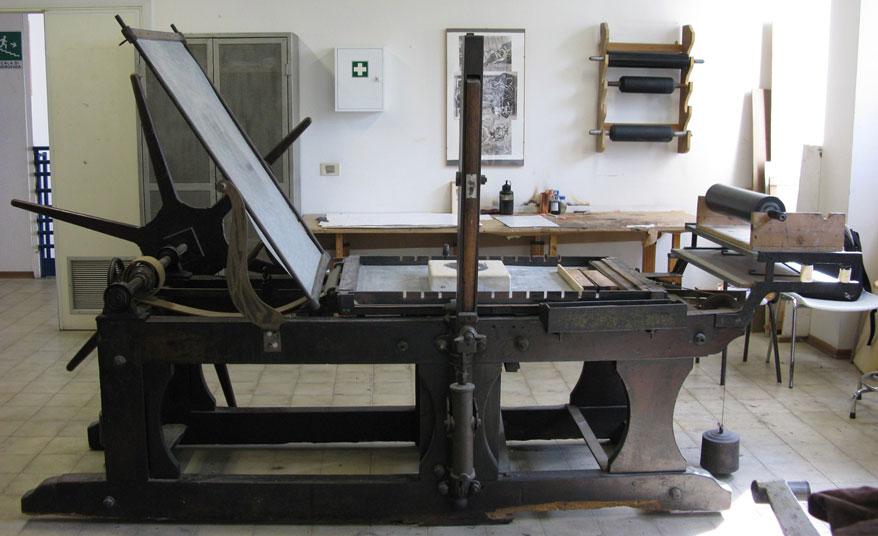 litografska masina