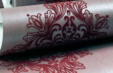 Floiranje u štamparstvu - flokirana tapeta