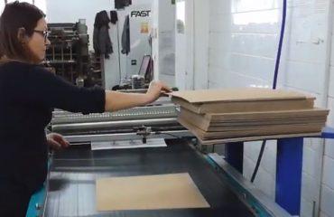 kaširanje u štampariji