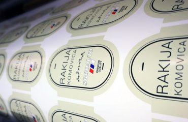 ricovanje etiketa za rakiju