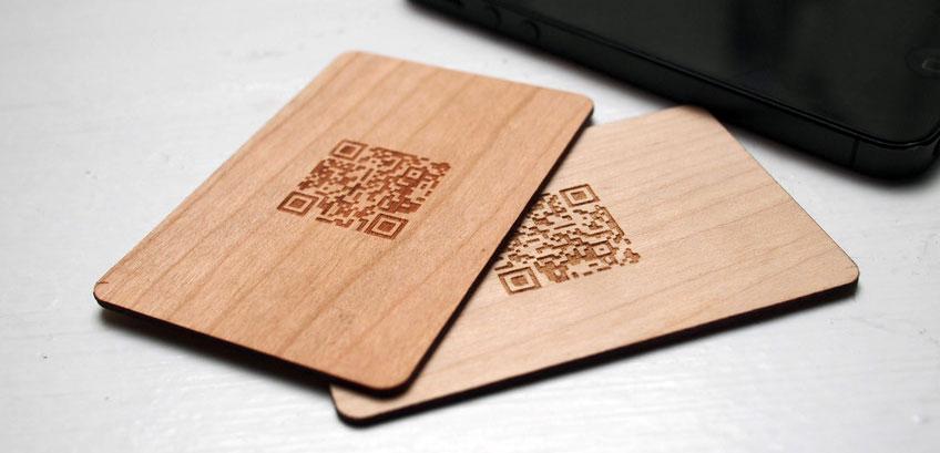 drvene vizit kartice