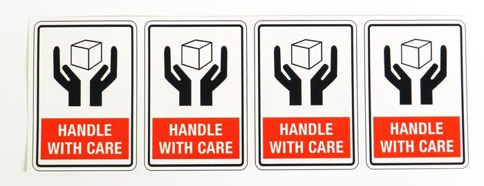 nalepnice oprezno rukovanje