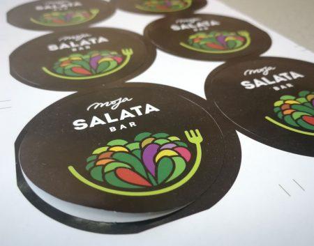 nalepnica salata bar