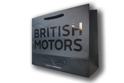 papirna kesa sa uv lakom British motors