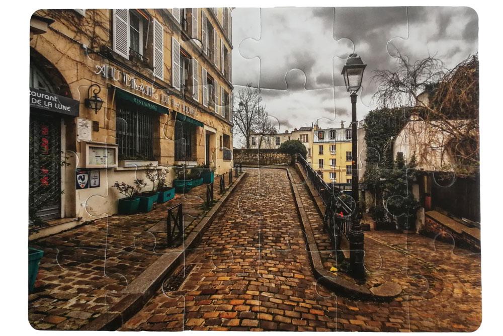 puzle sa slikom pariske ulice