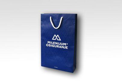 reklamna kesa Milenijum osiguranje