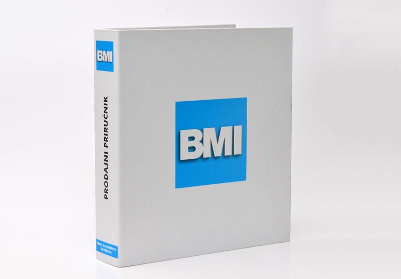 tvrda fascikla sa mehanizmom BMI logo