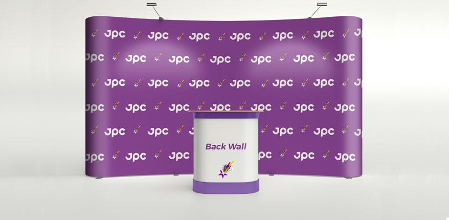 Back wall Jovsic printing centar