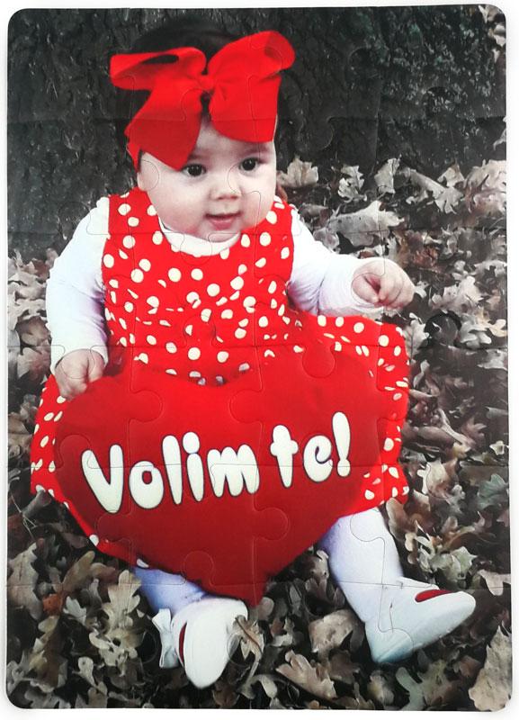 puzla bebo volim te