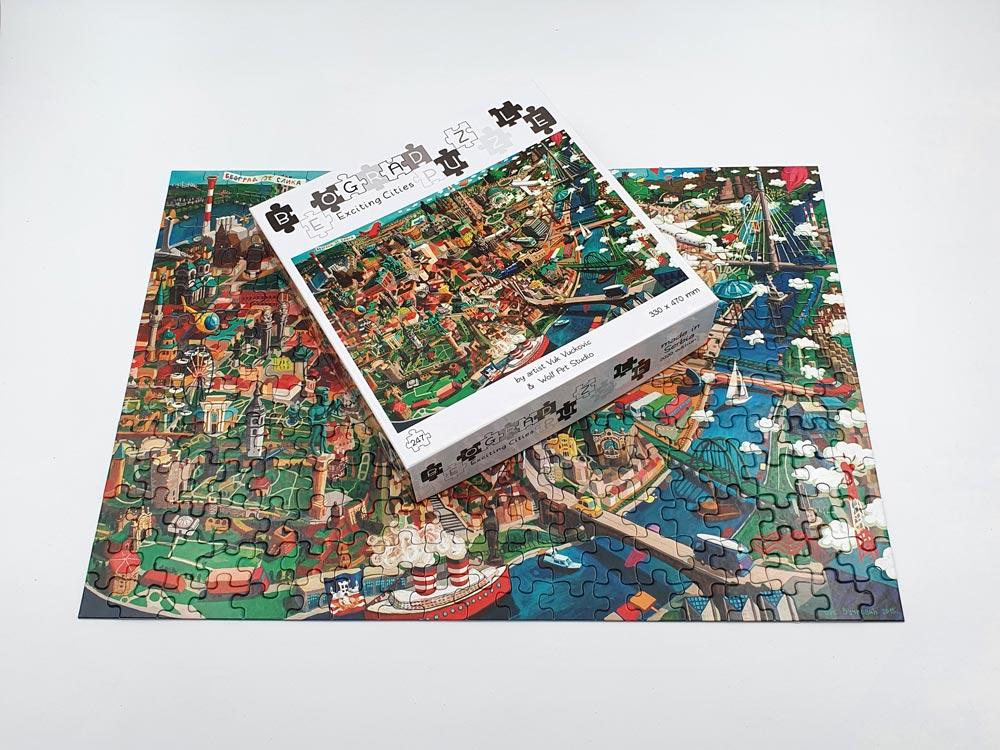 kutije za igračke puzzle beograd